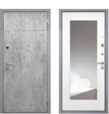 Дверь Интекрон Спарта Грей зеркало