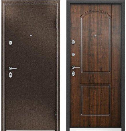 Дверь Torex Ultimatum МР Медь / КТ Дуб медовый КВ-8, левая, 880 мм фото