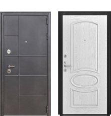 Дверь Luxor-24 Грация дуб белая эмаль