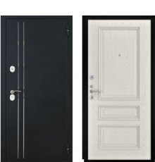 Дверь Luxor-37 Гера-2 Дуб РАЛ 9010
