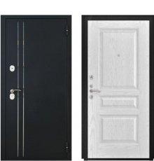 Дверь Luxor-37 Атлант-2 Ясень белая эмаль