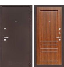 Дверь CLASSIC антик медный 03 - Орех бренди