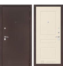 Дверь CLASSIC антик медный 03 - Крем софт