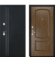Дверь Luxor-37 Лаура-2 Светлый мореный дуб