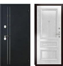 Дверь Luxor-37 Фараон-2 Дуб белая эмаль фото