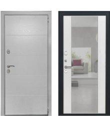 Дверь Luxor-35 Алиса Ясень белый зеркало