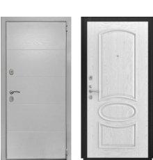 Дверь Luxor-35 Грация дуб белая эмаль