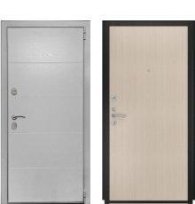 Дверь Luxor-35 прямая беленый дуб