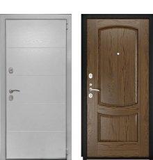 Дверь Luxor-35 Лаура-2 Светлый мореный дуб