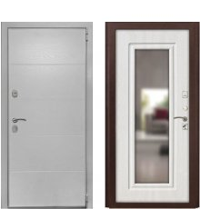 Дверь Luxor-35 ФЛЗ-120 ПВХ Белый ясень