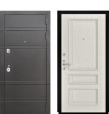 Дверь Luxor-25 Гера-2 дуб РАЛ-9010