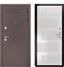 Дверь Luxor-27 ФЛ-185 ПВХ Белый ясень