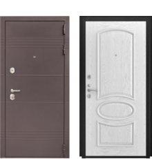 Дверь Luxor-27 Грация дуб белый эмаль
