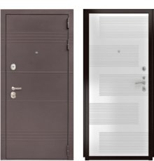 Дверь Luxor-27 ПВХ-185 Белая эмаль