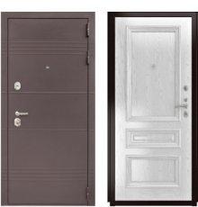 Дверь Luxor-27 Фараон-2 Дуб белая эмаль