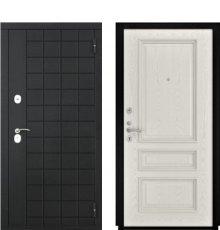 Дверь Luxor-36 Гера-2 Дуб РАЛ-9010