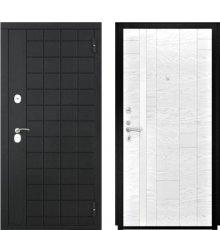 Дверь Luxor-36 Арт-1 Ясень белая эмаль