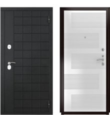 Дверь Luxor-36 ФЛ-185 ПВХ Ясень белый