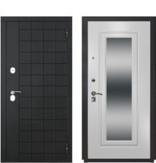 Дверь Luxor-36 ФЛЗ-120 ПВХ Ясень белый