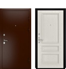 Дверь Luxor-3А Гера-2 Дуб РАЛ-9010