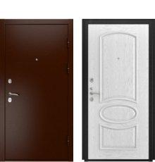 Дверь Luxor-3А Грация дуб белая эмаль