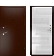 Дверь Luxor-3А ПВХ-185 Белая эмаль