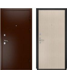 Дверь Luxor-3А Прямая беленый дуб