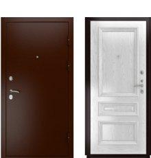 Дверь Luxor-3А Фараон-2 Дуб белая эмаль
