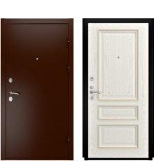 Дверь Luxor-3А Фемида-2 Дуб РАЛ-9010