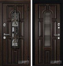 Дверь Металюкс М60 с капителью