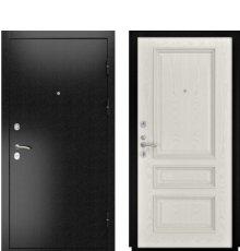 Дверь Luxor-3Б Гера-2 Дуб РАЛ-9010