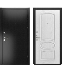 Дверь Luxor-3Б Грация дуб белая эмаль