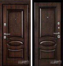 Дверь Металюкс М71 с капителью