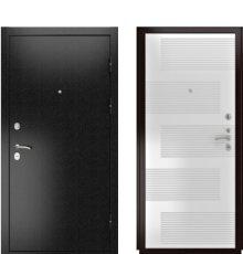 Дверь Luxor-3Б ПВХ Белая эмаль