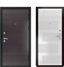 Дверь Luxor-7 ФЛ-185 ПВХ Ясень белый