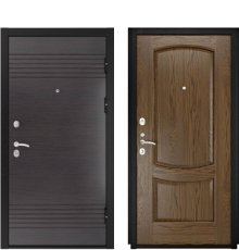 Дверь Luxor-7 Лаура-2 Светлый мореный дуб