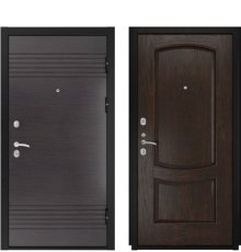 Дверь Luxor-7 Лаура-2 Мореный дуб