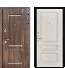 Дверь Luxor-22 Гера-2 Дуб РАЛ-9010