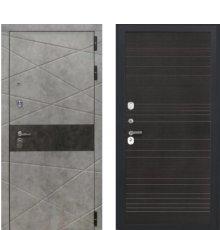 Дверь Luxor-31 ФЛ-643 Венге поперечный