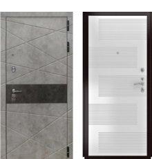 Дверь Luxor-31 ФЛ-185 ПВХ Ясень белый