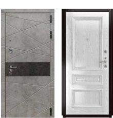 Дверь Luxor-31 Фараон-2 Дуб белая эмаль