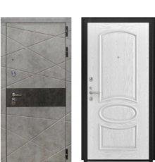 Дверь Luxor-31 Грация белая эмаль