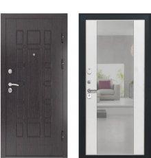 Дверь Luxor-5 Алиса ПВХ Ясень белый зеркало