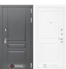 Дверь  Платинум 11 - Белый софт
