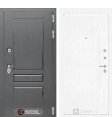 Дверь Лабиринт  Платинум 07 - Белое дерево