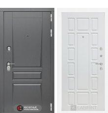Дверь Лабиринт  Платинум 12 - Белое дерево