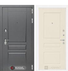 Дверь Лабиринт  Платинум 03 - Крем софт