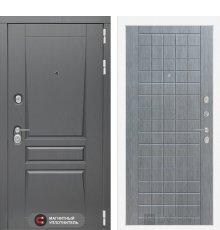 Дверь Лабиринт Платинум 09 - Лен сильвер грей