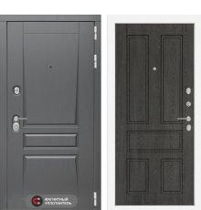 Дверь Лабиринт Платинум 10 - Дуб филадельфия графит