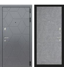 Дверь Лабиринт  COSMO 21 - Бетон светлый